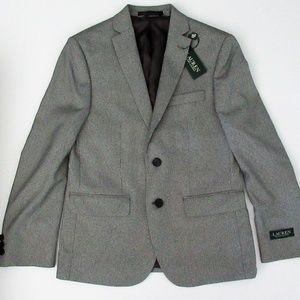 Ralph Lauren Black Suit Blazer Sportcoat Jacket